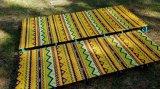 Im Freien kampierende Luft-Bett-Matratze-Strand-Matten-Picknick-Zudecke-Auflage-Doppelt-umweltfreundlicher Selbstaufblasbare Schlafenstrand-Matten-Superzudecke