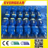 Reductor helicoidal en línea del engranaje de la serie de Mtd con la caja de engranajes helicoidal del motor