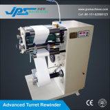 タレットのRewiderの自己接着ブランクラベルおよびバーコードラベルスリッター機械