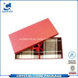 Kundenspezifischer Firmenzeichen-glatte Laminierung aufbereiteter Schal-Papierkasten