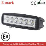 밝은 최신 판매 18W Offroad Epistar LED 일 빛 (GT1012-18W)