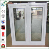 Oscillation australienne Windows de type de double vitrage de guichet de la Chine UPVC