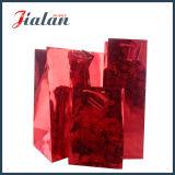 Saco de papel holográfico da fábrica profissional barata do revestimento de Suface da película de Speical