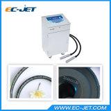 Barcode печатание принтера Ink-Jet Двойн-Головки непрерывный для косметической коробки (EC-JET910)