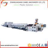 Linha de produção da extrusão da tubulação do PVC da máquina da extrusora