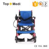 Topmediは力の車椅子の動力を与えられた電気折る車椅子をカスタマイズした