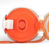 Grande bouteille d'eau extérieure potable de Large-Bouche réutilisable compressible