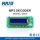 USB SD FM Bluetooth 5V/12V del soporte de la tarjeta de circuitos de Bluetooth MP3 de la tarjeta del amplificador