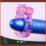 Le pénis vibrant de boucle de robinet de silicium animal de boucle sonne le jouet d'adulte de produits de sexe de jouets de sexe