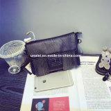 金属のふさの小型メッセンジャーのCrossbodyの肩のクラッチの財布袋