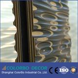 type en bois panneaux de mur de l'onde 3D pour la décoration à la maison