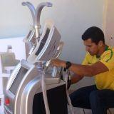 Machine de congélation de Cryolipolysis de gros traitements de la réduction 4 grosse Etg50-4s