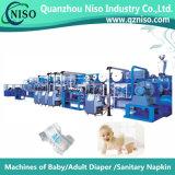 Máquina automática da fralda do bebê da forma de I com Ce (YNK400-HSV)
