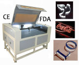 MDF Plywood Rubber 80W Laser Cutting Machine com Ce FDA