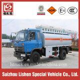 Petroleiro Dongfeng 170HP do combustível de Rhd do caminhão do petróleo 12 M3 feito na capacidade de China 12000L