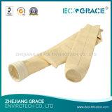 Мешок воздушного фильтра войлока Nomex волокна Aramid меты поставкы Ecograce