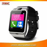 L'avis Aplus Gv18 de synchro d'horloge d'appareil-photo de carte de NFC SIM imperméabilisent Smartwatch