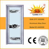 最新のデザイン内部アルミニウム洗面所のドア(SC-AAD009)