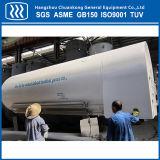 tanque de armazenamento horizontal do líquido 10m3 criogênico com sela