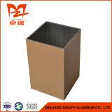 ドアのための正方形アルミニウムプロフィール、粉のコーティングのアルミニウムプロフィールa