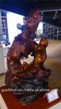 La décoration intérieure des œuvres abstraites de sculpture de Ar