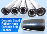 High Efficiency를 가진 튼튼하게 Using Flexible Ceramic Lined Rubber Tube Hose