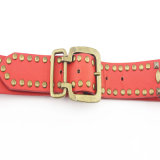 Black Rivet Lady's Fashion PU Belt (HJ0026)