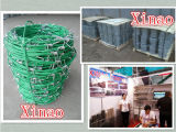 Колючая проволока 100-500m PVC Coated в крен
