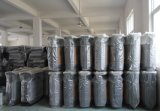 Pattumiera esterna di vendita calda con legno di plastica (HW-D02A)