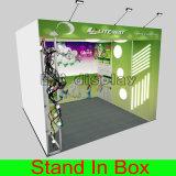 2016 새로운 무역 박람회 LED 알루미늄 직물 가벼운 상자