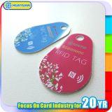 Keyfob móvil de la aplicación NTAG213 NTAG215 NTAG216 NFC del sistema al por menor