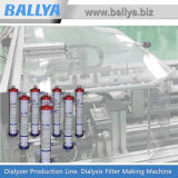 Cadena de producción de Hemodialyzer de la industria fabril de equipo de la diálisis del aparato médico Ballya