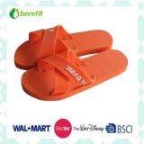 Slippers degli uomini con PE Sole e PVC Straps, X-Straps