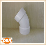 6 pouces Taille Fitting 1/8 Bend type PVC
