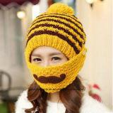 Шлемы Coverd рта девушки способа теплой связанные зимой