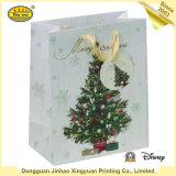 Zoll gedruckter Weihnachtskunstdruckpapier-Beutel-verpackenbeutel/Geschenk-Beutel