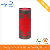 Подгонянная коробка цилиндра вина бумажная (QYZ307)
