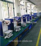 Máquina de la marca del laser para la madera del plástico del metal