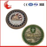 fabbrica delle monete di vendita su ordinazione del metallo 3D vecchia