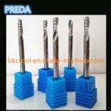 Cortadores Polished de uma flauta para o funcionamento acrílico