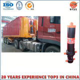 Cilindros hidráulicos telescópicos de Multisatage para o cilindro do caminhão de descarga