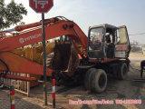 Wheel usato Excavator Hitachi Ex160wd da vendere