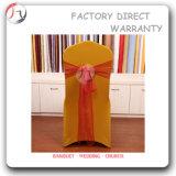 黄色いデザインスパンデックスの装飾的な椅子カバー(YT-29)