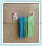 Het enige Muur Opgezette Spoor van de Handdoek van de Badkamers met Zuignap