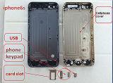 Perforadora del orificio de cristal de la pantalla del teléfono celular del CNC con el precio HS-T6 del favor