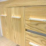 Productos calientes para vender la cabina en línea de madera sólida del cuarto de baño
