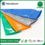 """1 """" - 10 """" 2bar - mangueira azul da água do PVC Layflat da cor 10bar"""