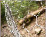 Engranzamento de fio de proteção sextavado galvanizado mergulhado quente/rede de fio sextavada