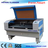 Legno ad alta velocità/sistema di cuoio di taglio del laser del CO2