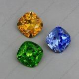 Arc-en-ciel Color Point Back Fancy Stones Rhinestones Beads pour Jewelry